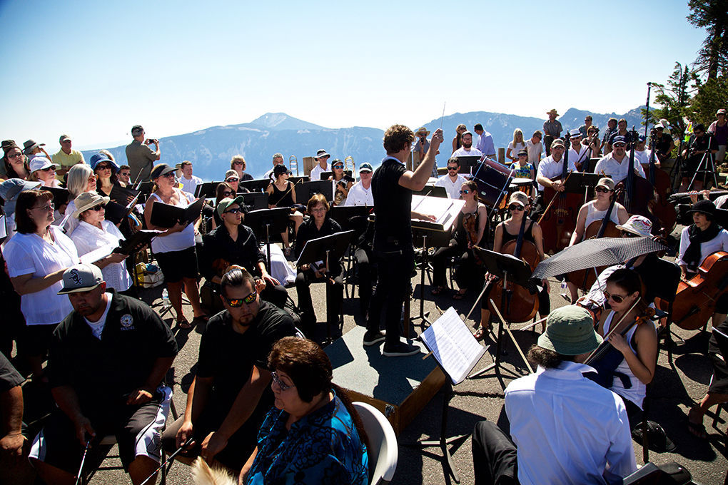 Britt Orchestra Crater Lake performance