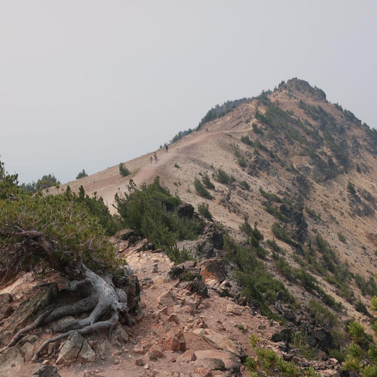 Mt. Scott final climb