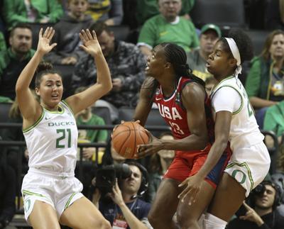 US Women Oregon Basketball