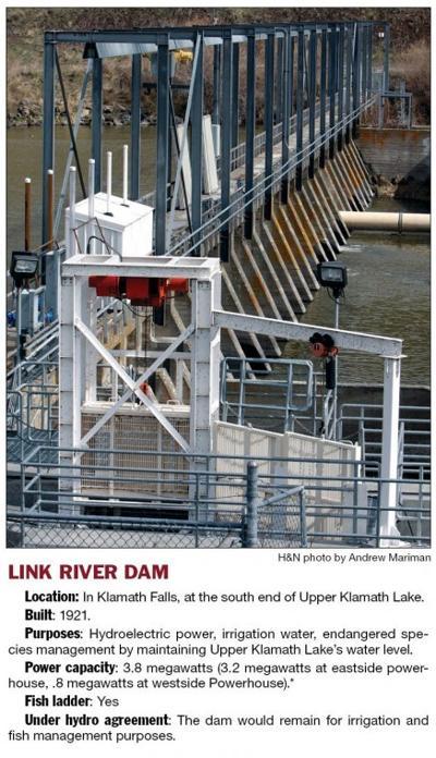 Link River dam