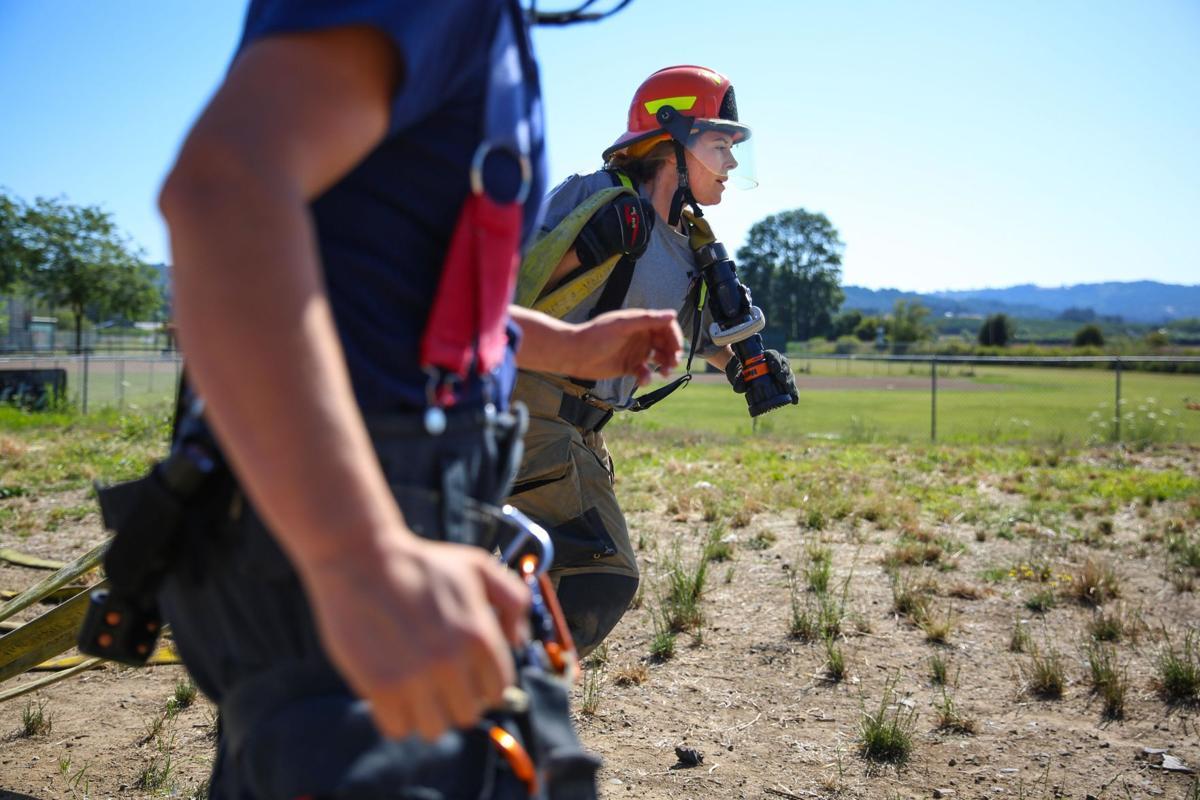 Gaston Kicks Off 1st-Of-Its-Kind Female Firefighting Camp