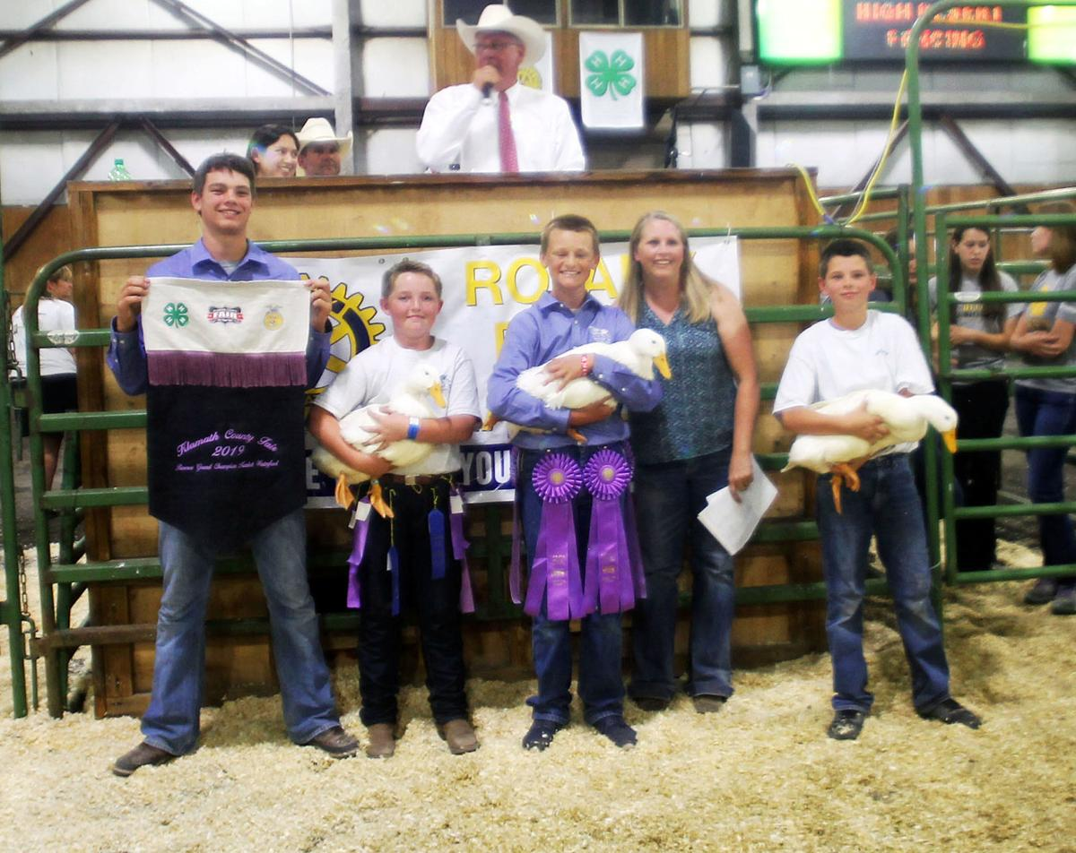 Final Bid Klamath County Fair Livestock Auction Results