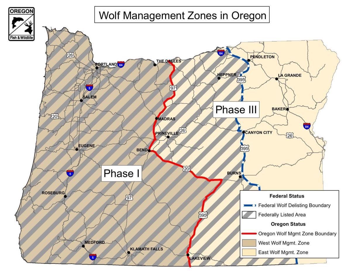 Wolf zones
