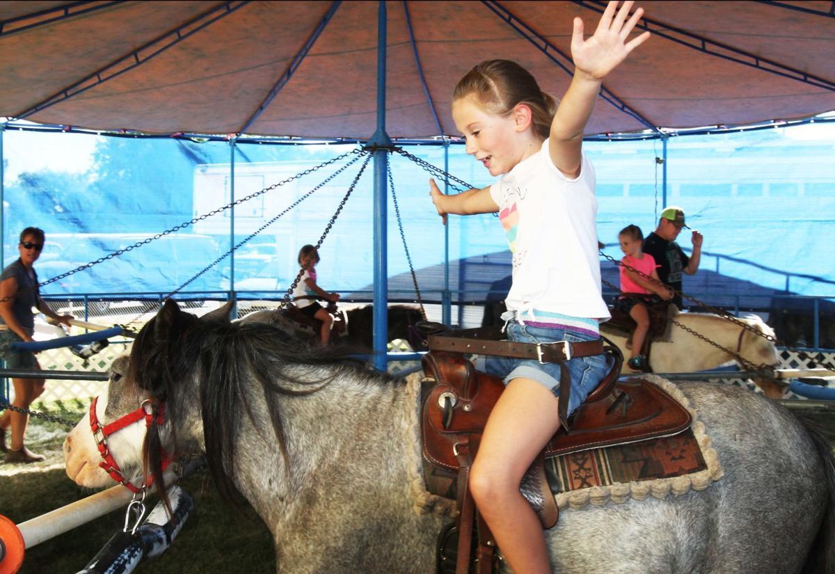 High-flying fun at fair