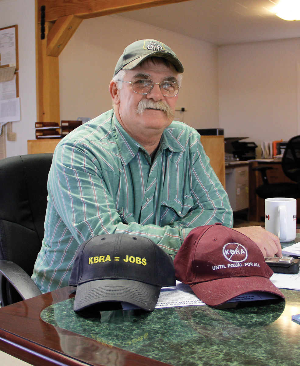 Water rights a balancing act local news heraldandnews langell valley irrigation district manager frank hammerich keeps memorabilia representing both sides of the klamath basin restoration agreement controversy platinumwayz