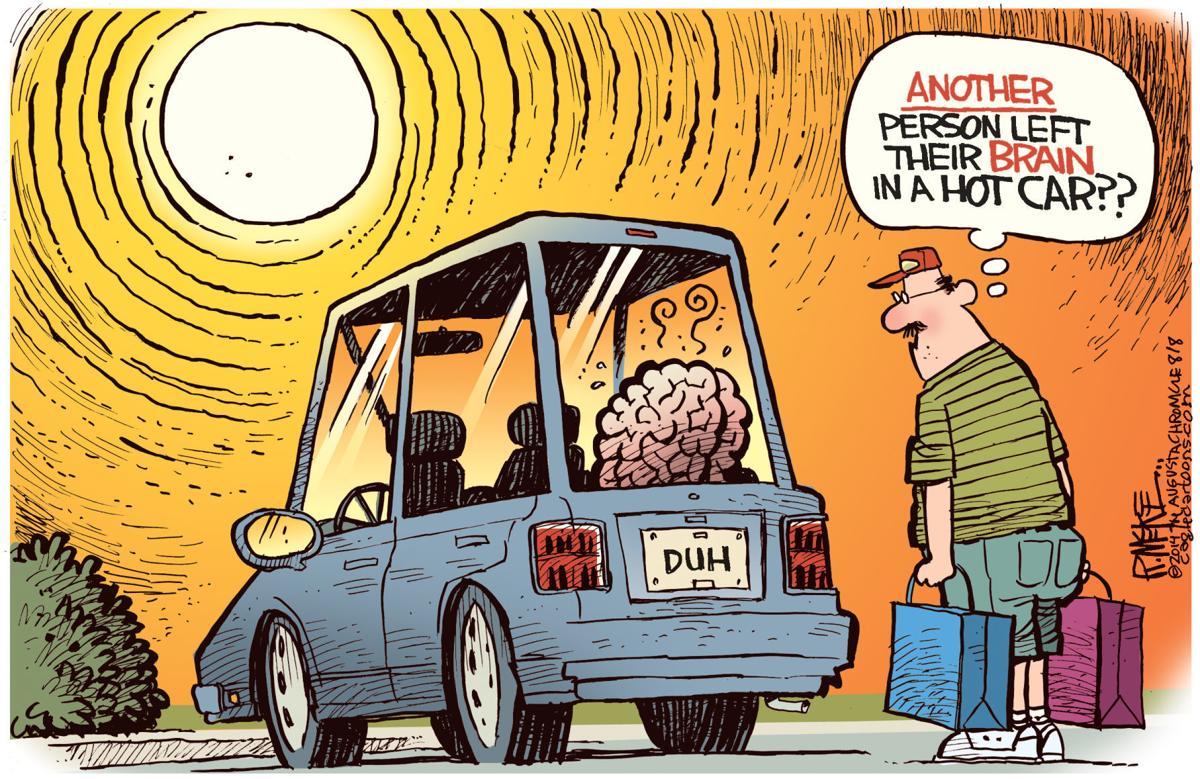 Beware the hot car