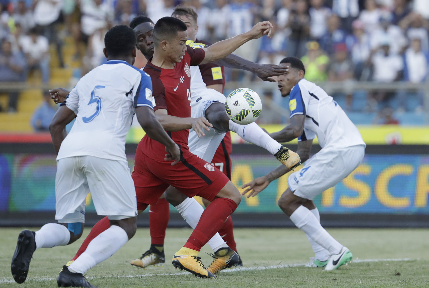 U.S. determined ahead of World Cup showdown