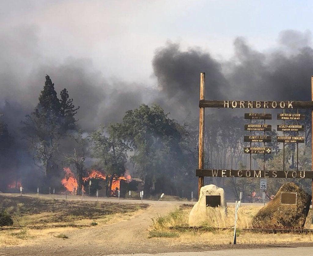 Klamathon Fire Incident Information: 25% contained, 72 structures ...