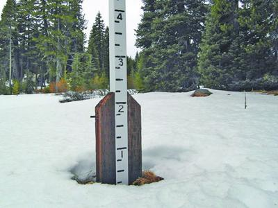 Crater lack snow pack