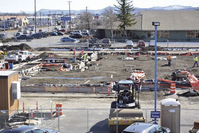 Klamath Falls Subaru Construction Underway
