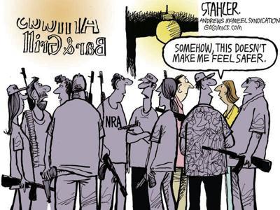 NRA feel safer