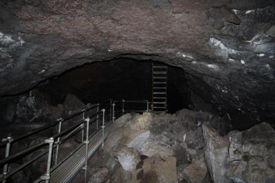 Lava Beds cave
