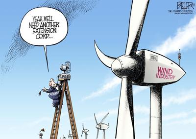 Wind power needs subsidy