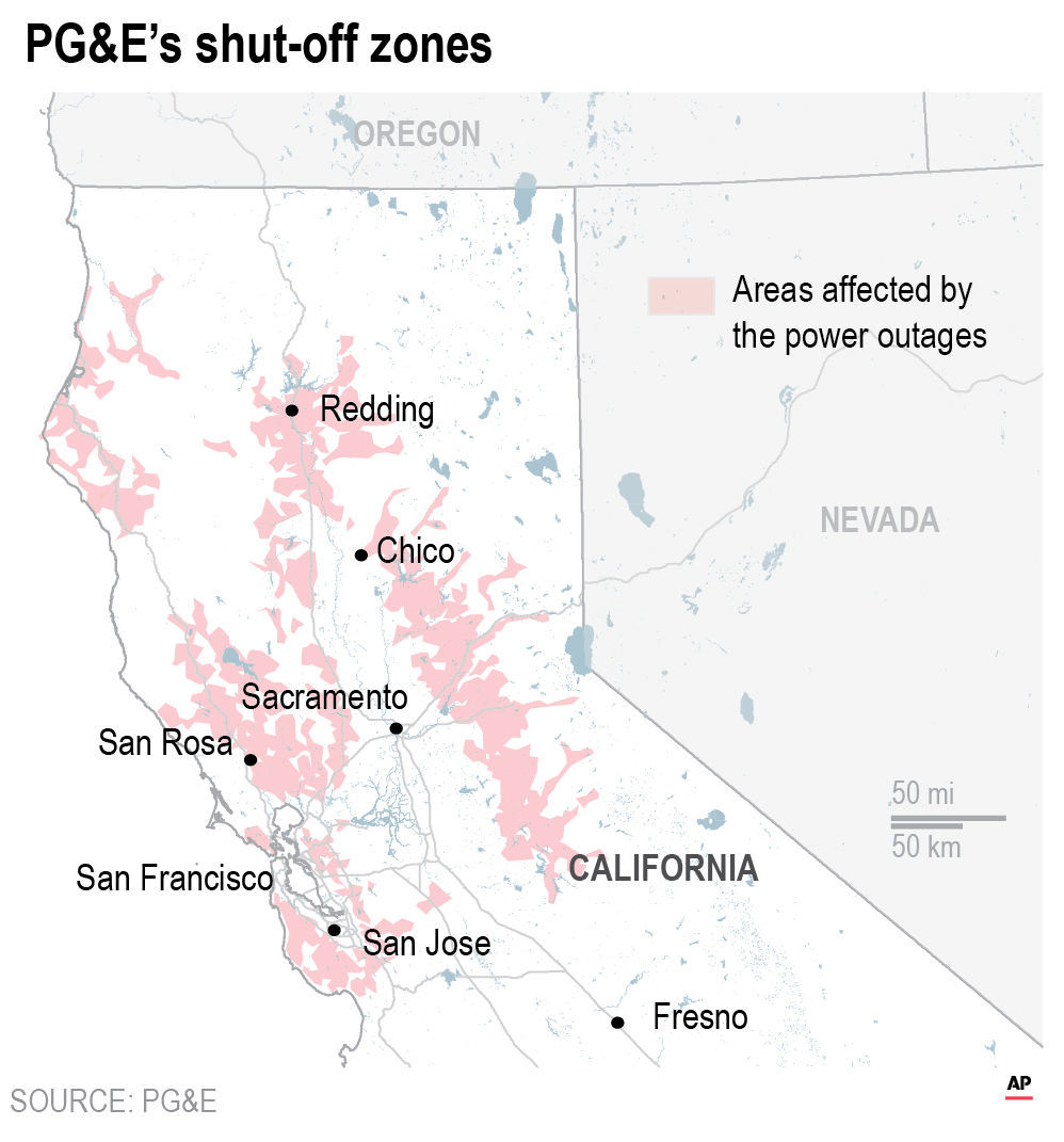 CALIF POWER OUTAGE
