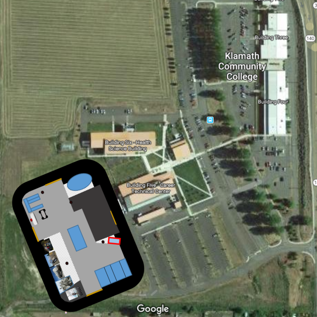 KCC locator map