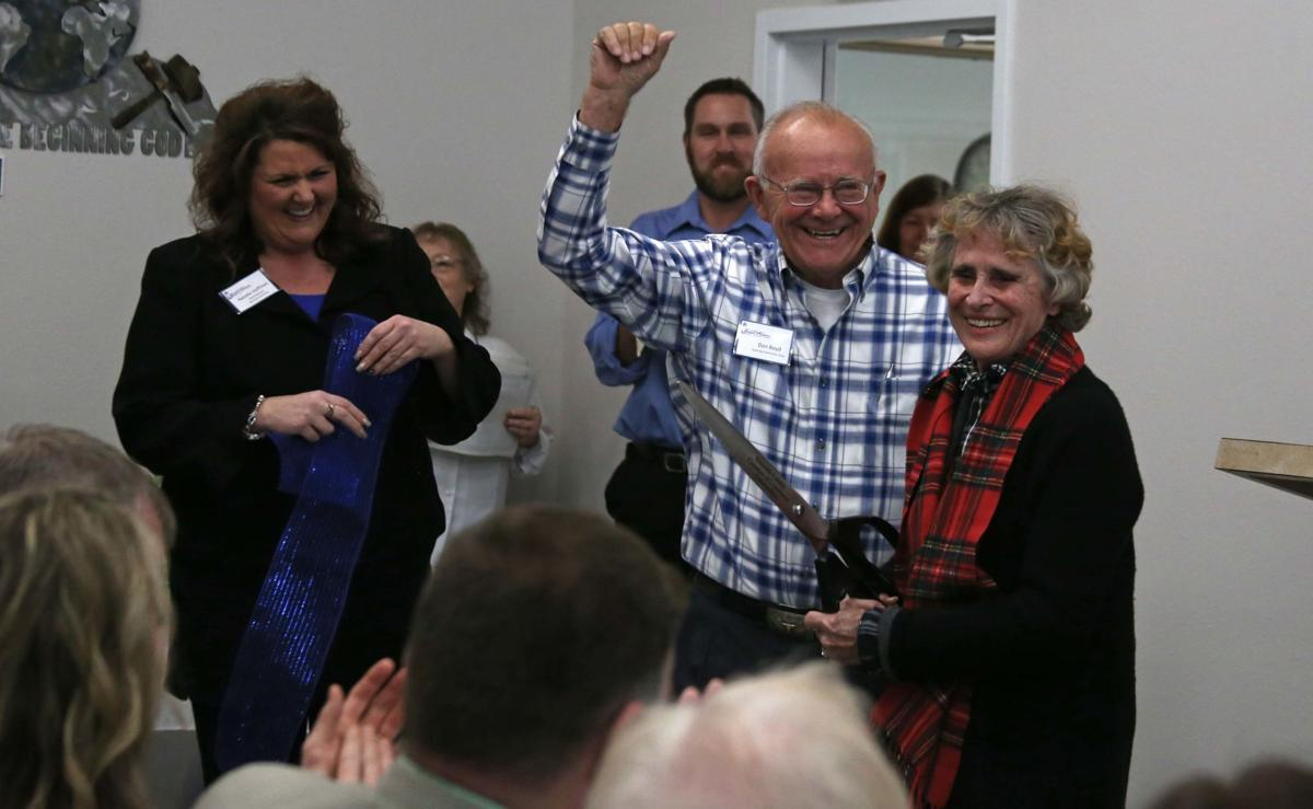 Community leaders celebrate new Klamath Falls Gospel Mission opening