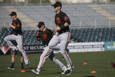 Giants Spring Baseball