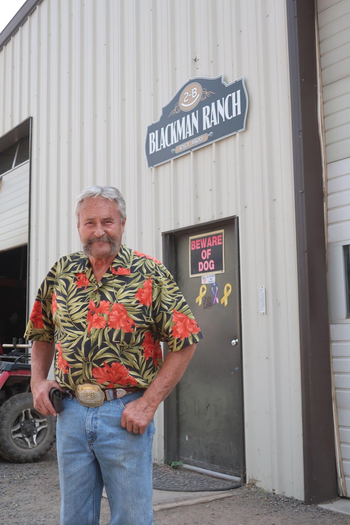 Rod Blackman, century ranch