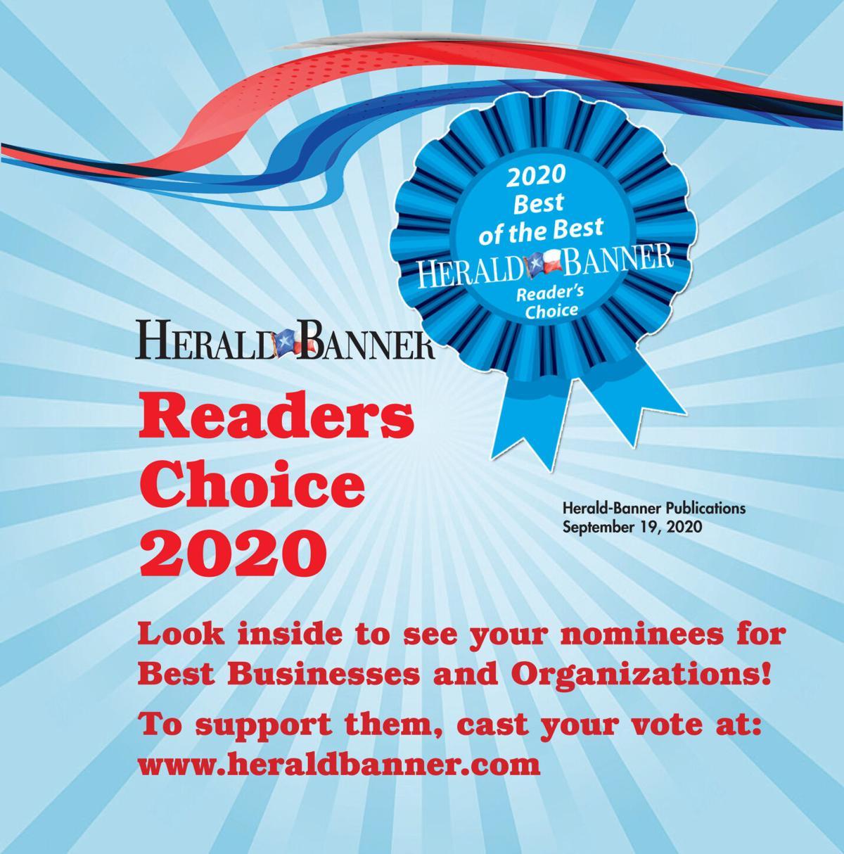Readers Choice Ballot Tab 2020