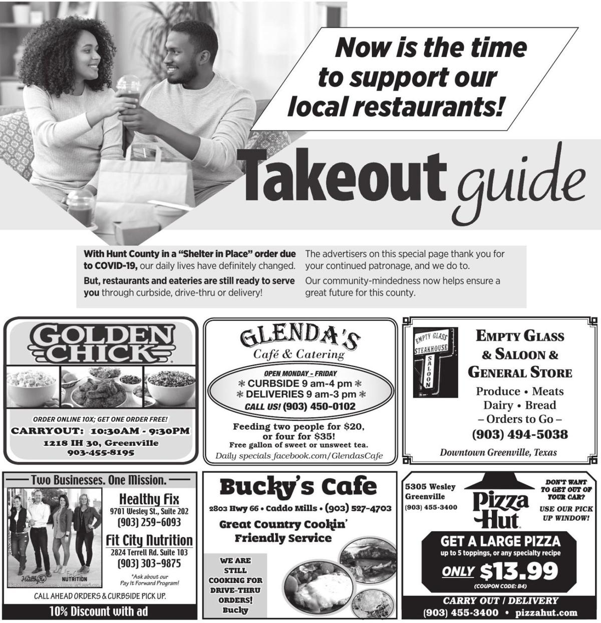 Takeout Guide