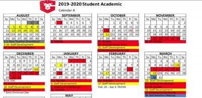Gisd Calendar 2020 Greenville ISD sets 2019 20 school year calendar | Local News