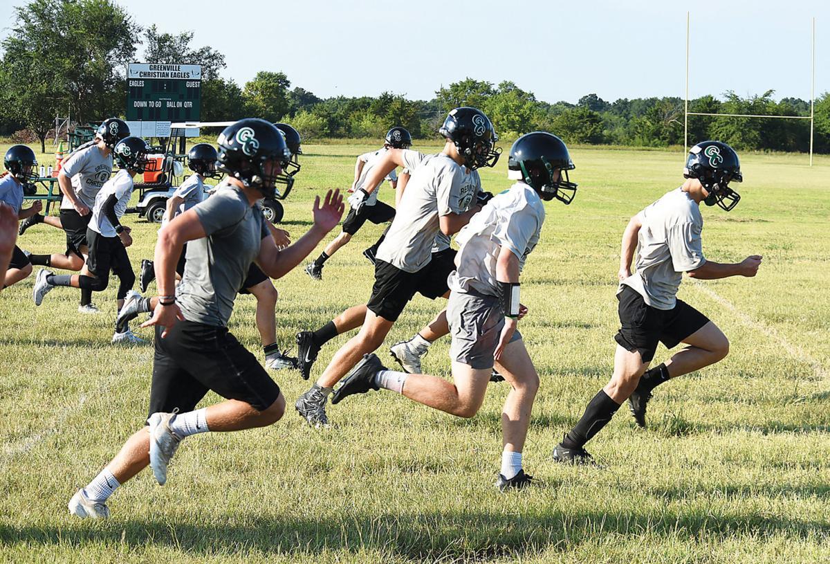 Eagles on the run