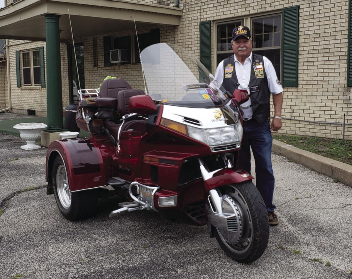 A veteran and his bike
