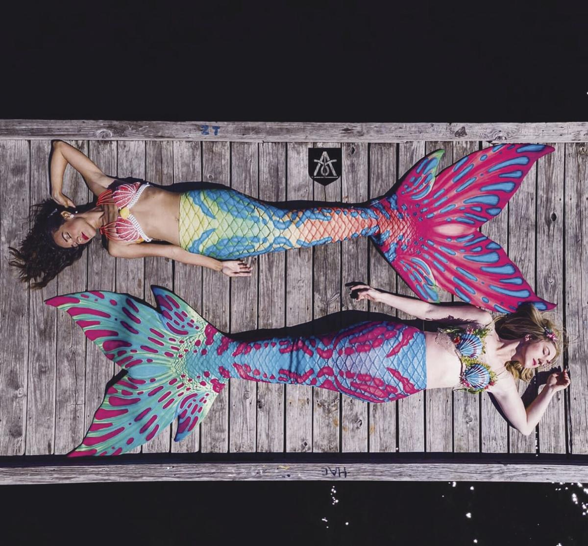 Mermaids from above