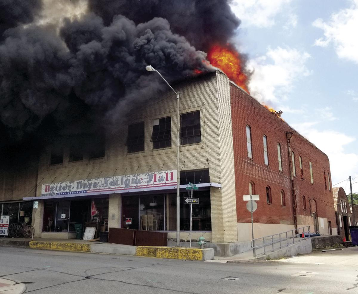 Muzzy's Alley fire 0