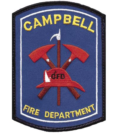 Campbell Fire Department patch