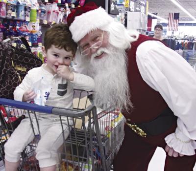 Bonding with Santa