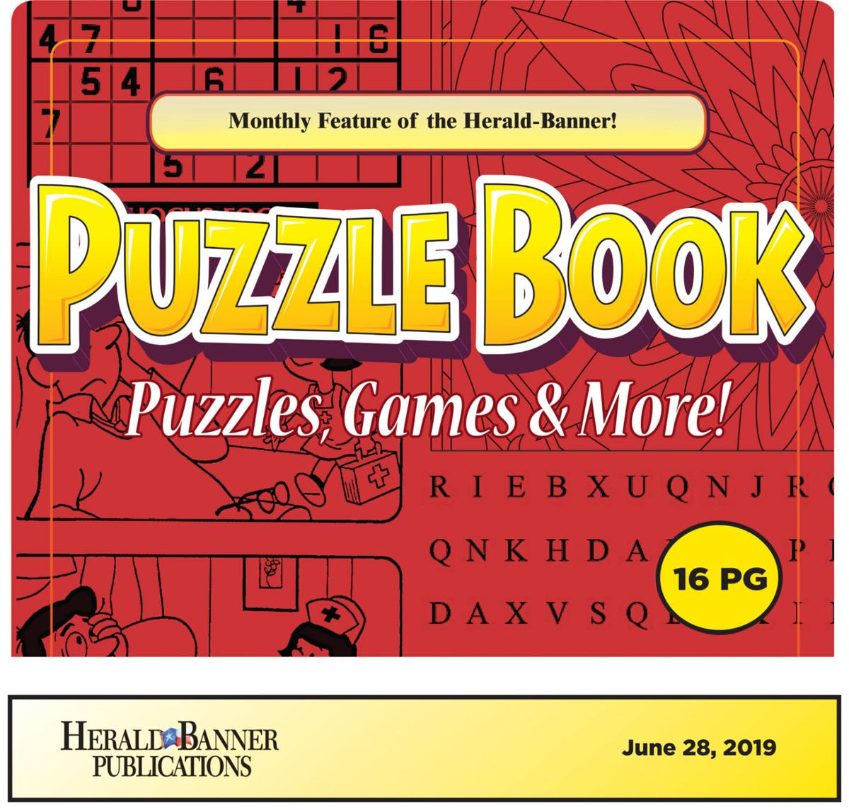 June Puzzle Book