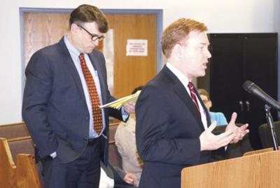 Addressing commissioners