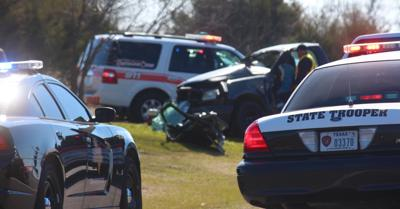 One killed, one injured in two-vehicle crash south of Greenville