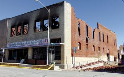 Fire guts downtown business