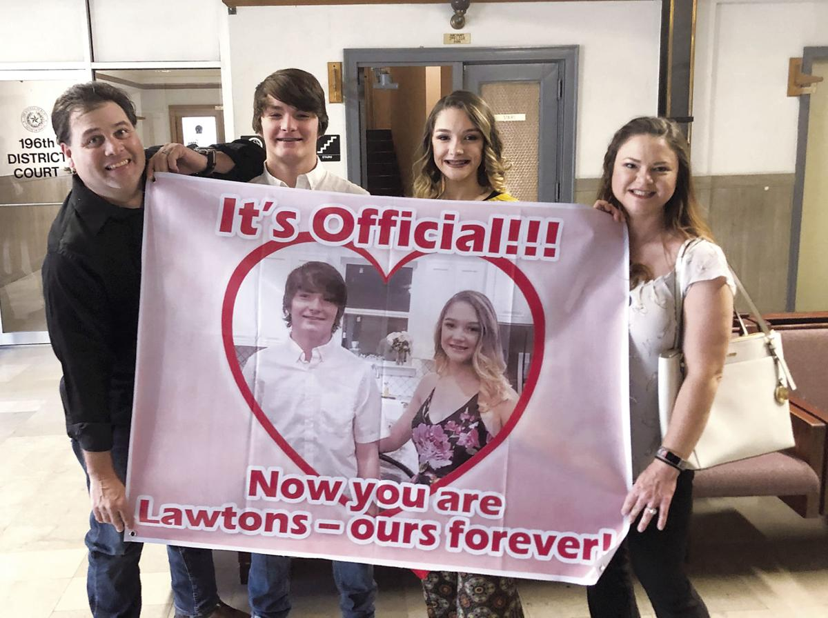 One Big Happy Family Heroes Welcomed At Adoption Day Event Local News Heraldbanner Com