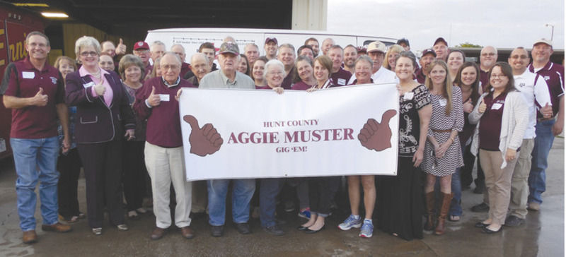 Aggies gather