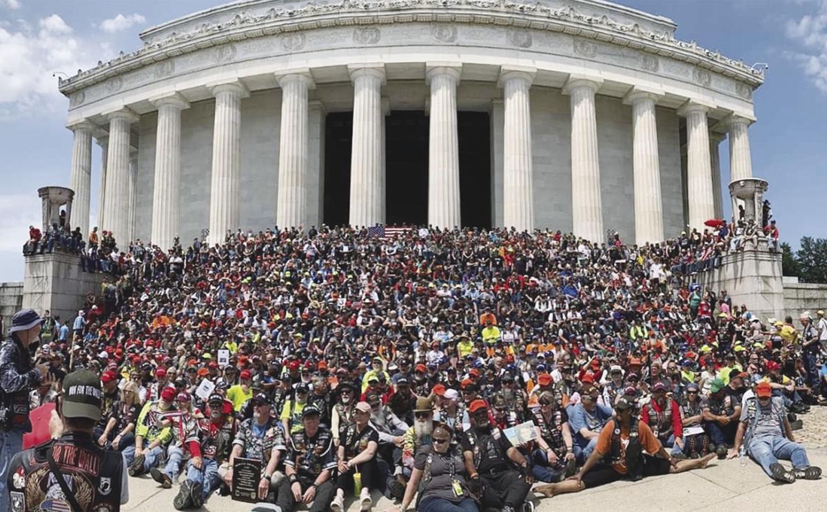Veterans descend on D.C.