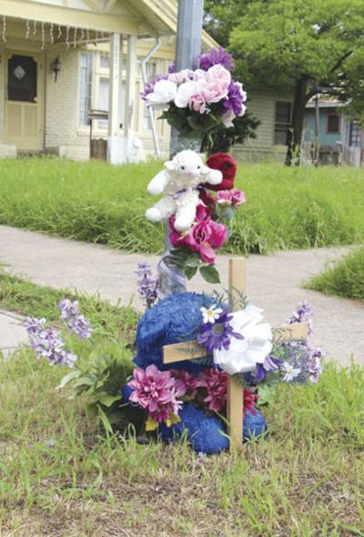 Memorial still standing