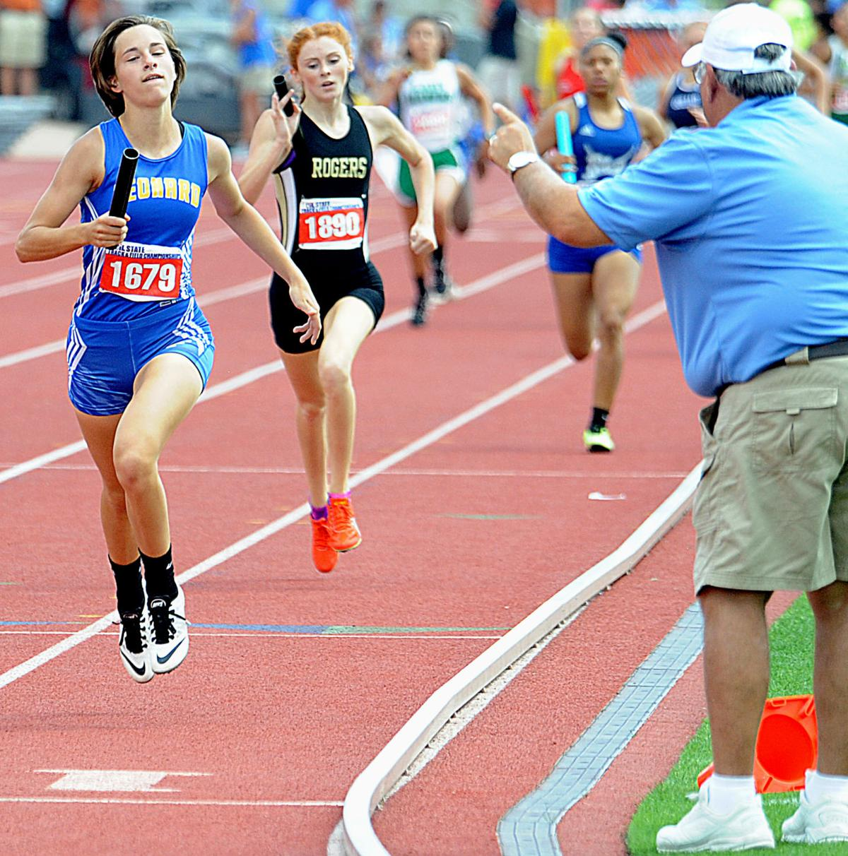 Leonard girls capture team title at state track meet ...