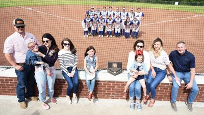 Doug Thomas Field dedication