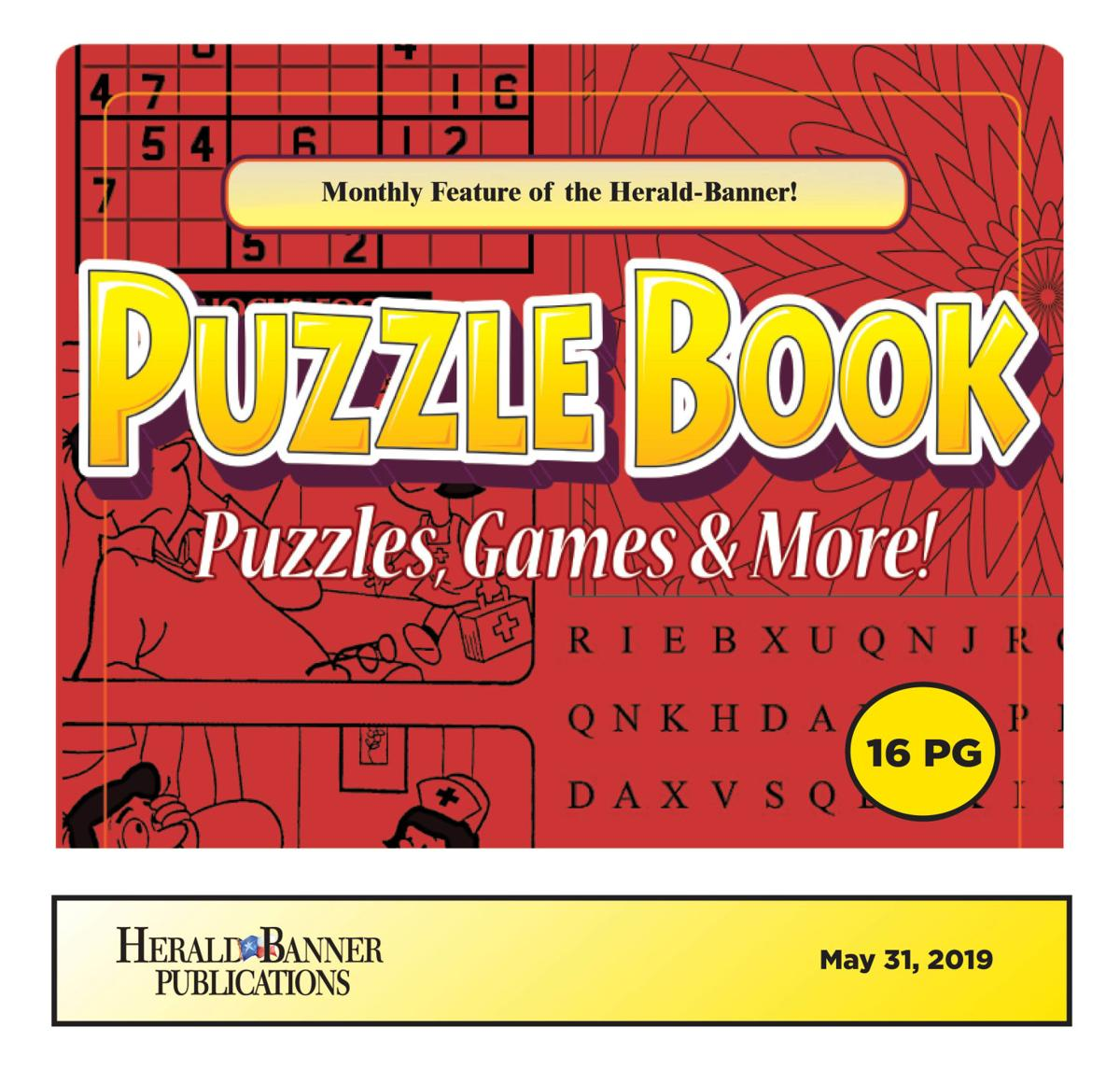 Puzzle Book May 2019