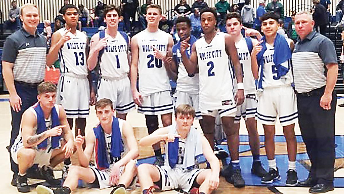 Wolfe City's bi-district champs