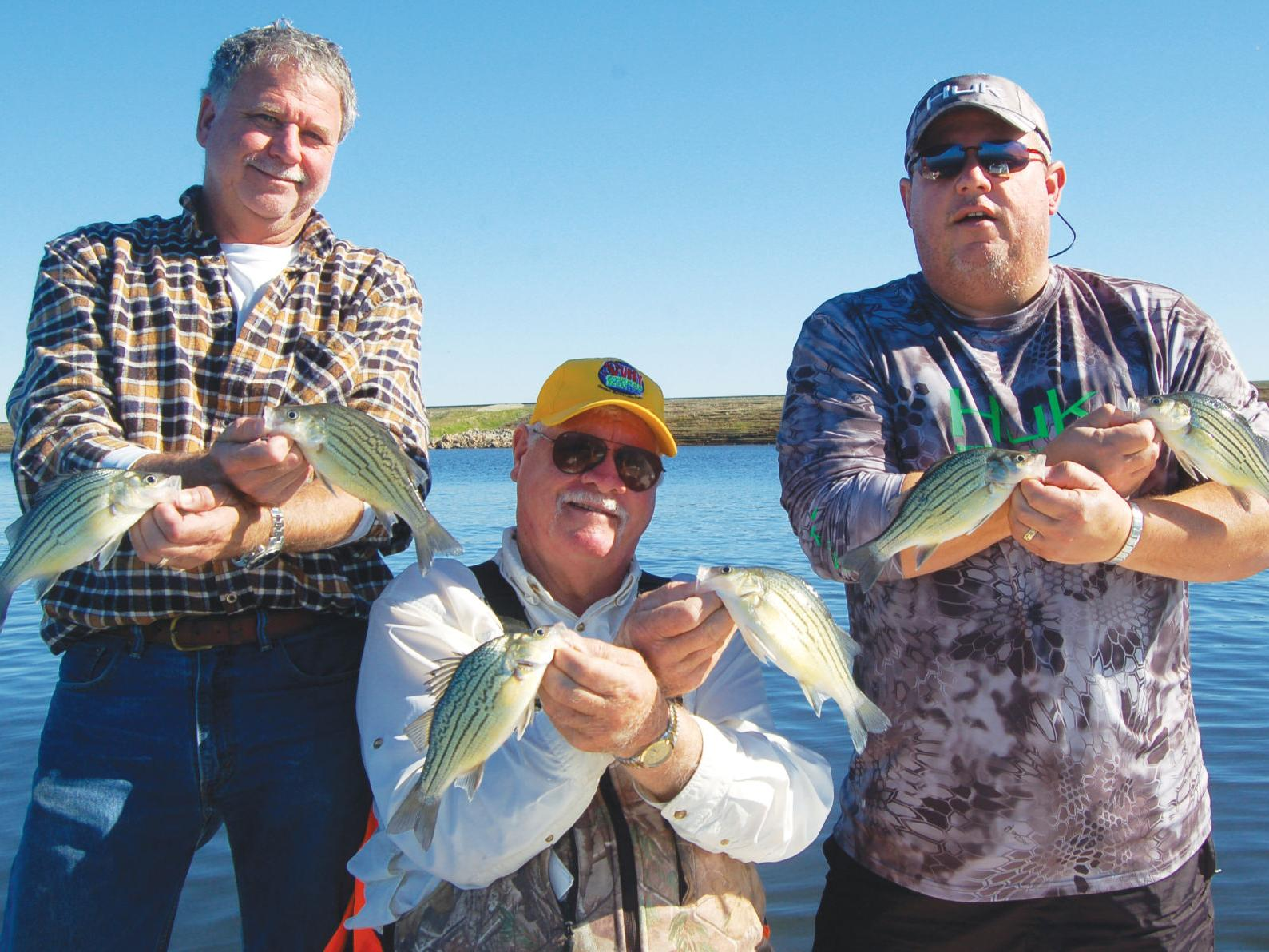 Outdoors With Luke Fishing For Yellow Bass At Lake Fork Sports Heraldbanner Com