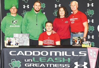 Reese Payne signs with Henderson State