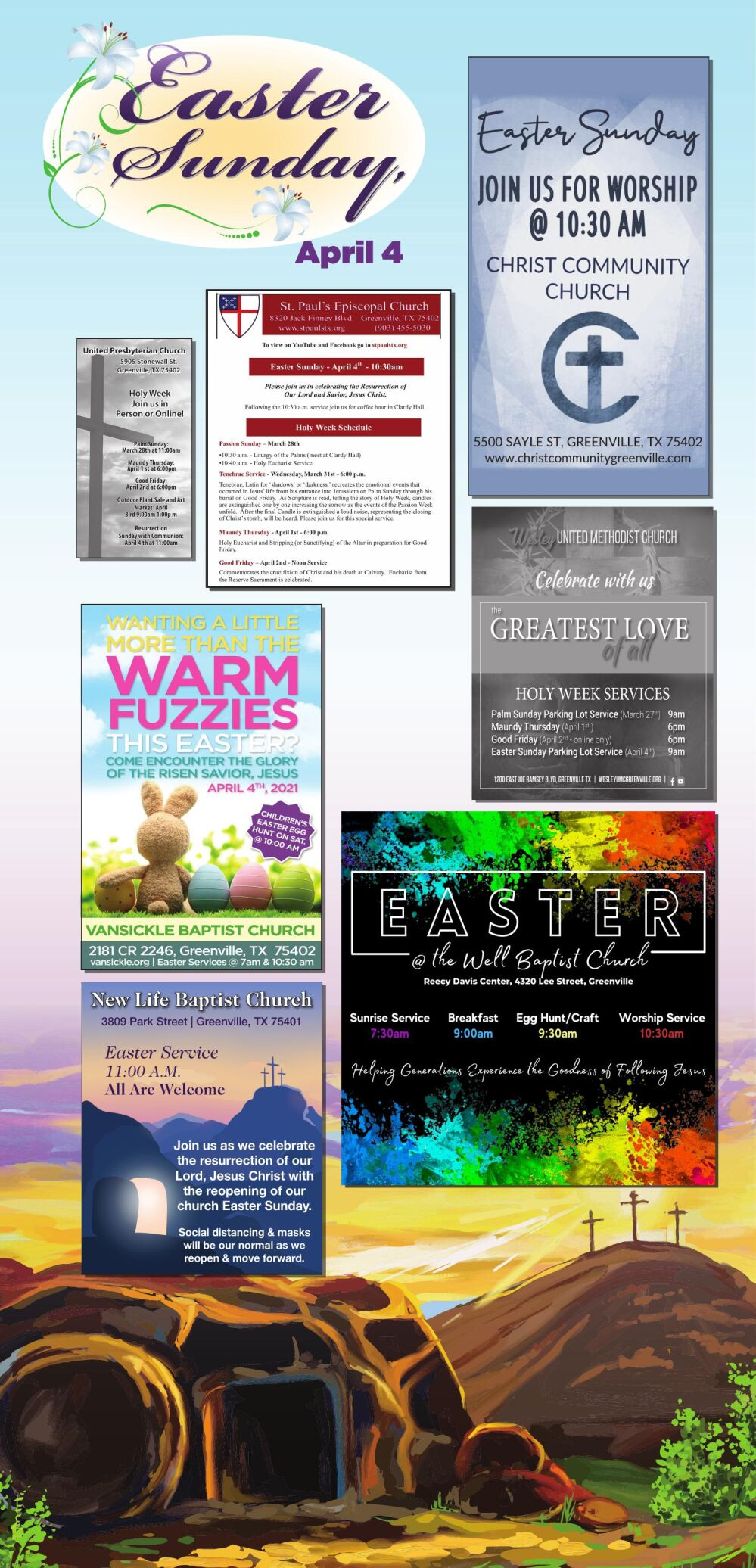 Easter Page April 3