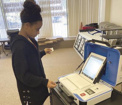 Demonstrates voting system