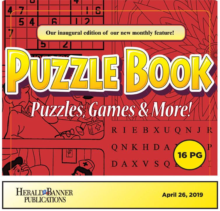 Puzzle Book April 2019
