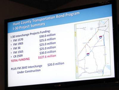 New I-30 interchanges