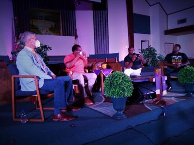 Panel discussion about race issues